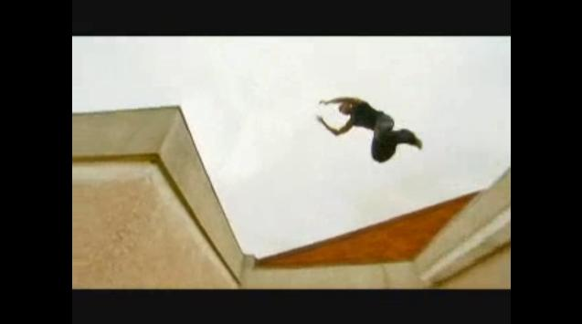 街中で行なう忍者のようなストリートスポーツ:パルクールの紹介