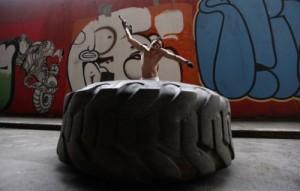 ストリートボクシングジム・トレーニング風景