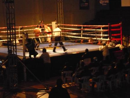 ティファナのボクシング試合