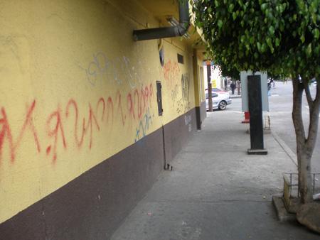 ティファナのゲットーストリート