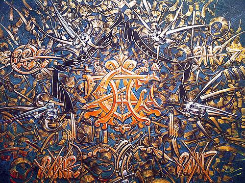 チカーノ ストリートアーティストのオリジネーターchaz bojorquez(チャズ・ボヨーケズ)