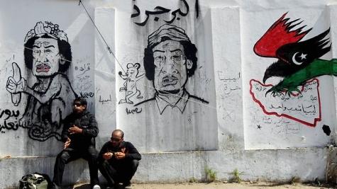 アラブの春・アラブ世界騒乱:プロテストグラフィティーについて