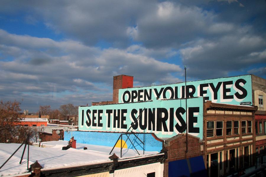 ストリートアート in フィラデルフィア ウェスト・フィリー