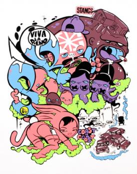 グラフィティアーティスト・Jersey Joe Rime