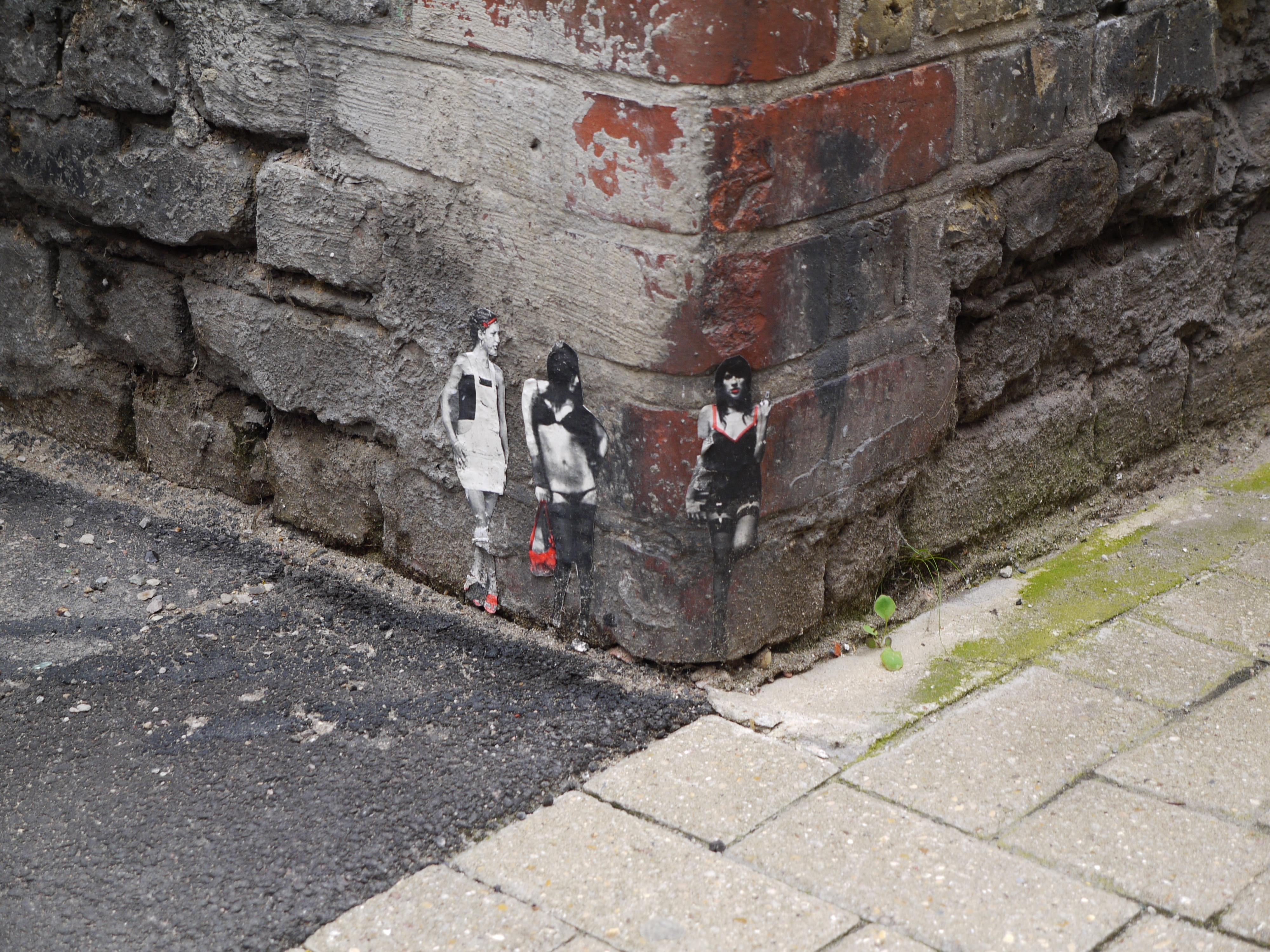 ストリートアーティストのPablo Delgado