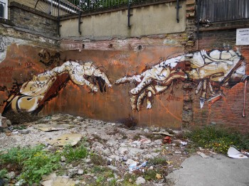 Street Art - Brick Lane, London