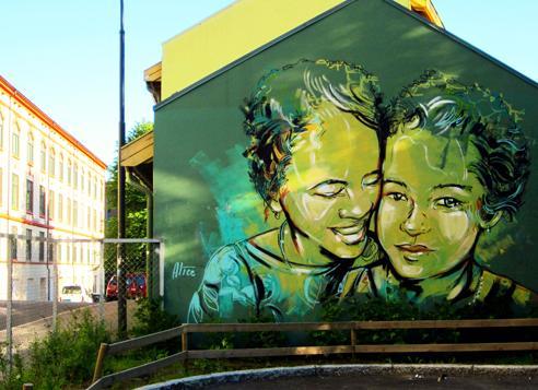 イタリア出身のストリートアーティスト・AliCè