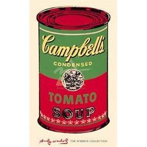 ポスター アンディ ウォーホル キャンベルスープ缶 ポスター