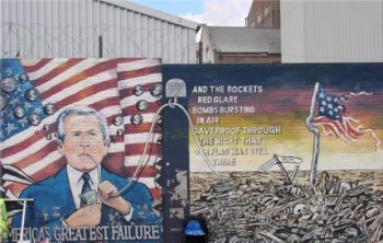 The Troubles mural