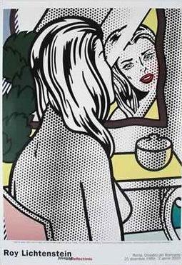 ロイ・リキテンスタイン(Roy Lichtenstein) Hey You!