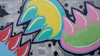 Claw Money graffiti