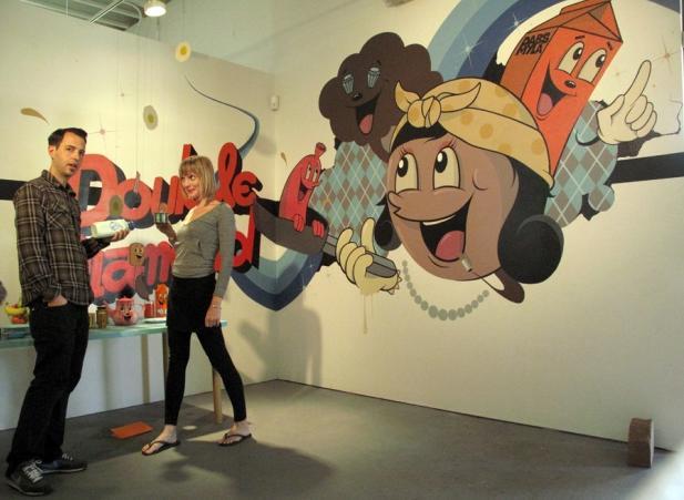 オーストラリア・メルボルンのグラフィティアーティストDabs Myla