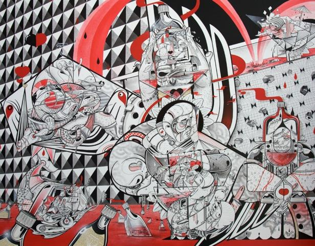 ニューヨークで活躍するグラフィティアーティスト・HOWNOSMの紹介
