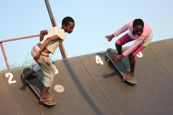 南アフリカに作られたスケートボードコミュニティー:インディゴスケートキャンプ