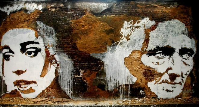 ストリートアートを過激な彫刻で表現するアーティスト・(アレクサンドル・ファルト)Alexandre Farto (VHILS)