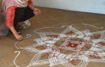 Kolam art