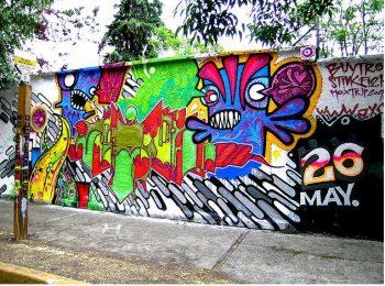 Stinkfish graffitti