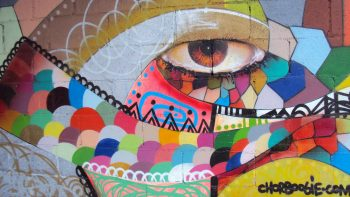 Chor Boogie street art in tijuana @ mexico
