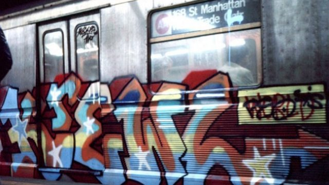 Eric Haze New York Subway Graffiti