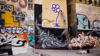 Michael De Feo, 5 Pointz , NYC, 2007 (photo by Gavin Thomas)
