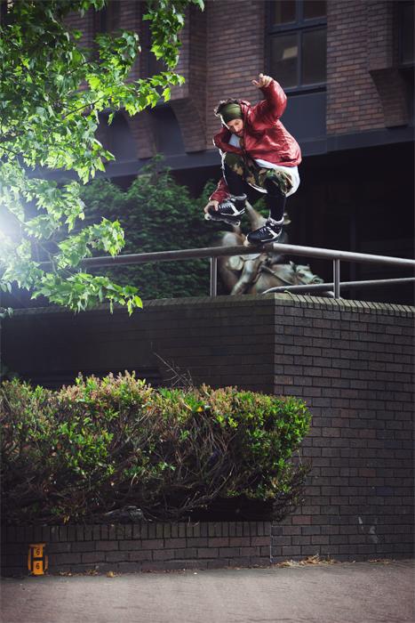 パルクールとインラインスケートのニューヒーロー:マチュー・レドゥー(Mathieu Ledoux)