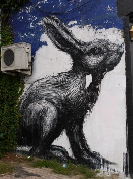 Roa Rabbit, London