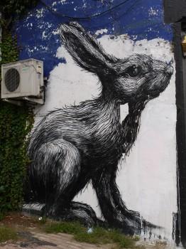 Roa Rabbit, London