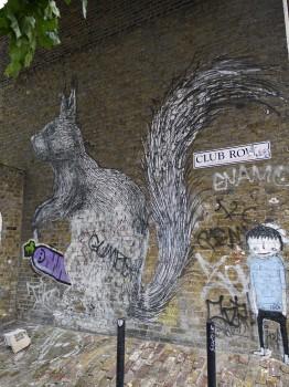 Roa Squirrel, London