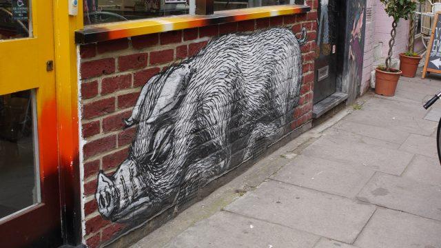 Roa - boar, London