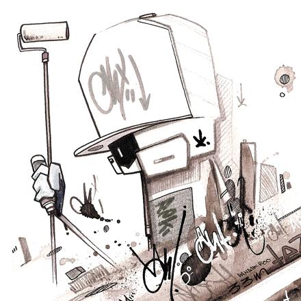 フランスのグラフィティーアーティスト・The Panda Crew (ザ・パンダ・クルー)の紹介