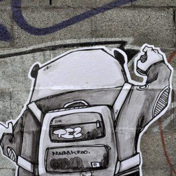The Panda Crew ストリート・アート