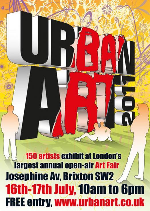 UK Urban Art Fair イギリスのアーバン・アートフェスティバル