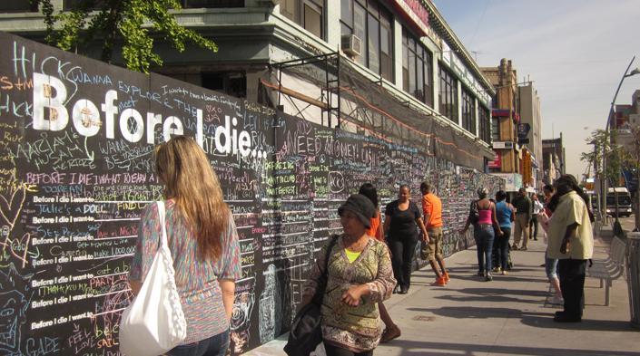 キャンディ・チャンが行ったニューオーリンズの公開アートプロジェクト:「死ぬ前にしたいこと」