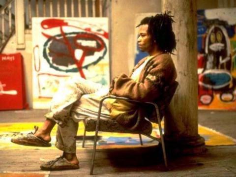 ジャン=ミシェル・バスキアの伝記映画の「Basquiat」 (バスキア)
