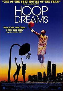 ブラックムービー紹介・1994年のバスケットボールドキュメンタリ映画:Hoop Dreams(フープ・ドリームズ)