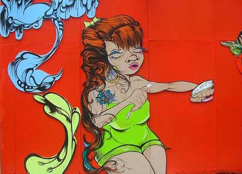 ニューヨリカン・グラフィティアーティスト:Sofia Maldonado(ソフィア・マルドナード)