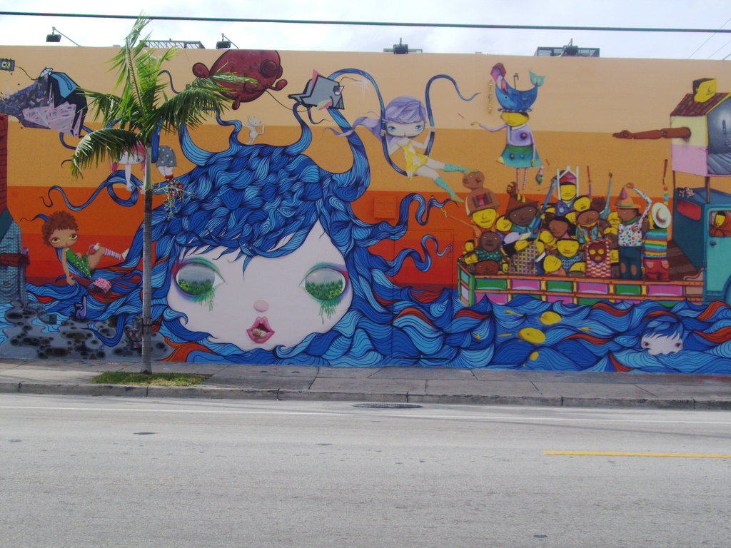 マイアミのストリートアートプロジェクト:Wynwood Walls(ウィンウッド・ウォールズ)