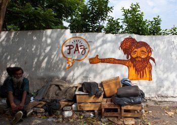 Bruno Diasのストリートアート (photo by Douglas Garcia)