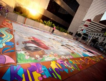 世界のアートショウ紹介・ヒューストンのストリートアートショウ:Via Colori(ヴィア・コローリ)