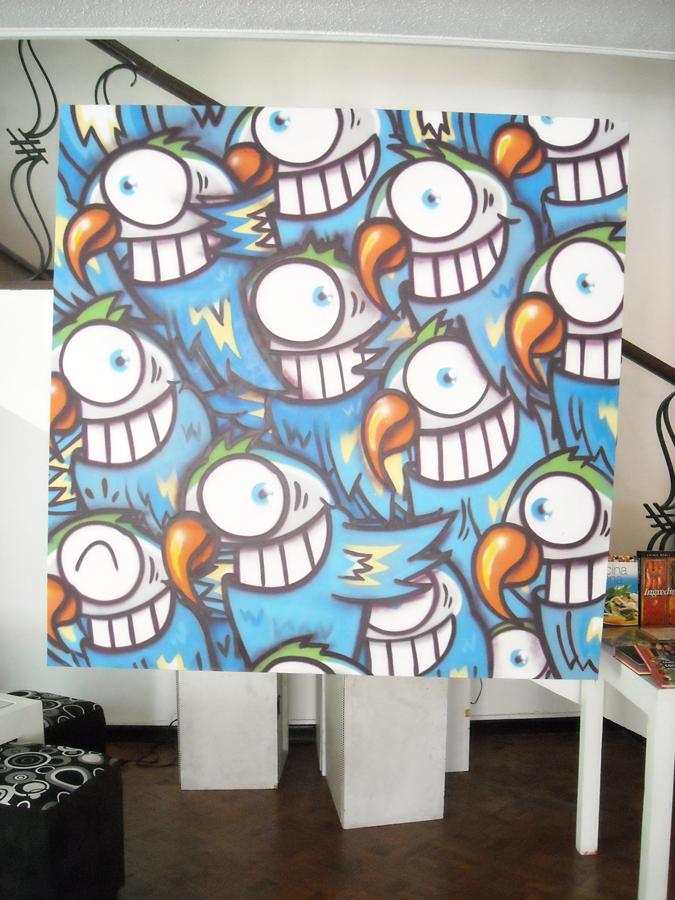 スペイン・バルセロナのストリートアートシーンを担うアーティスト:Pez