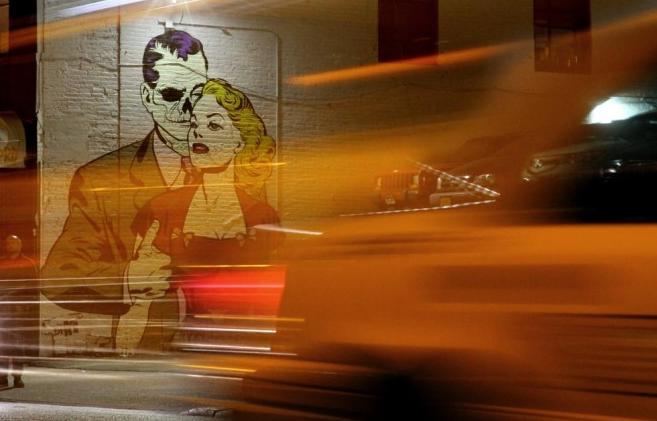 ロンドン出身のストリートアーティストD*Face(ディフェイス)