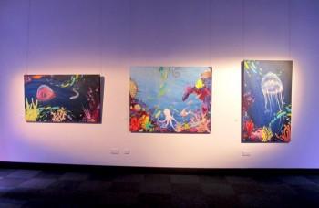 group exhibition at Somokehouse Gallery London 2011 (photo - Milo Tchais)