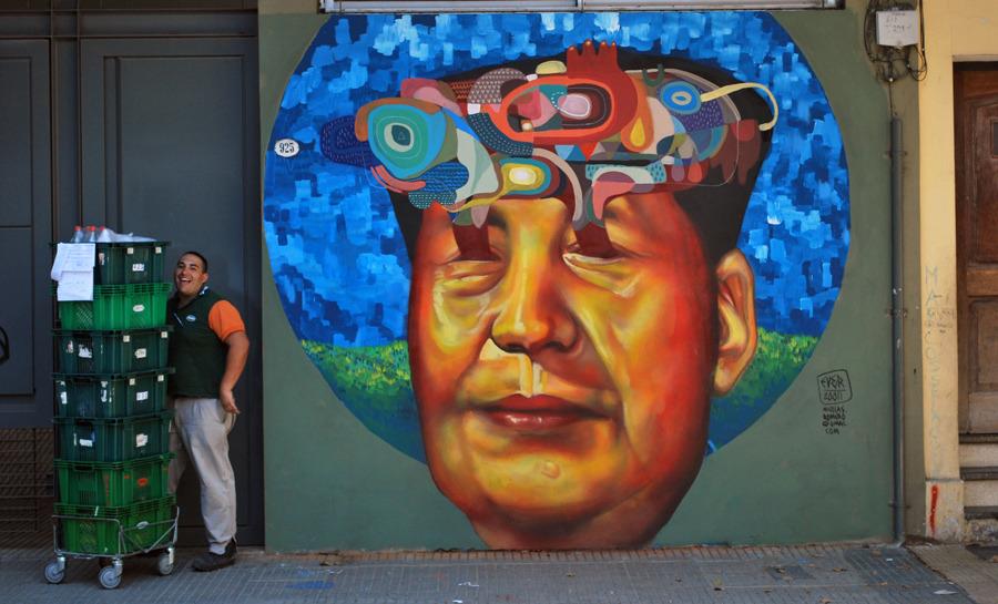 世界のストリートアーティスト紹介:ブエノスアイレスのストリートアーティスト Ever
