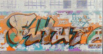 Futura 2000のグラフィティ