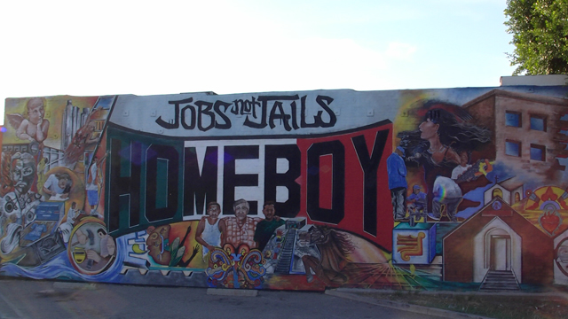 元ギャングメンバーの社会復帰支援施設:HOME BOY ホームボーイ・インダストリーズ(Homeboy Industries)