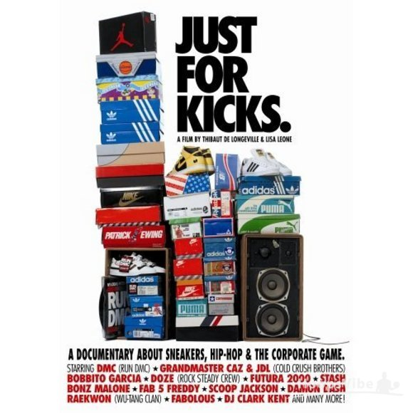 スニーカーマニア(スニーカーフリーク)達のドキュメンタリー:「Just For Kicks」(2005年)