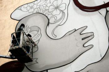 Boa Mistura(ボア・ミストゥーラ) ストリートアート