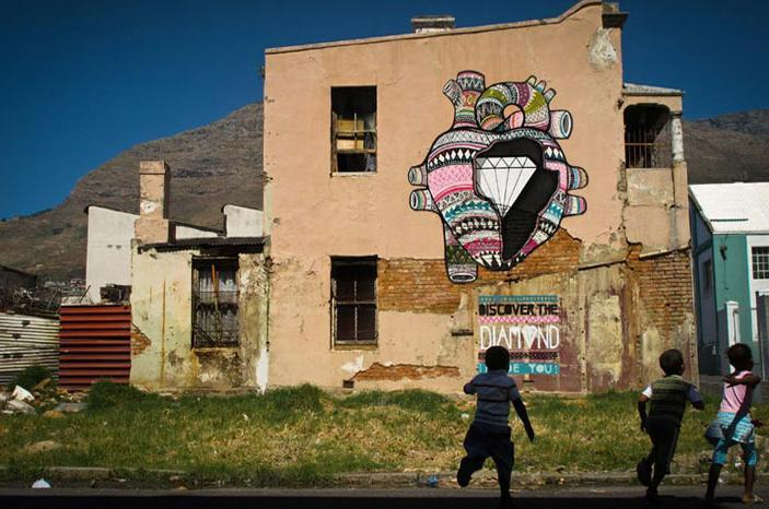 スペインのストリートアート団体:Boa Mistura(ボア・ミストゥーラ)のヒストリーと作品紹介
