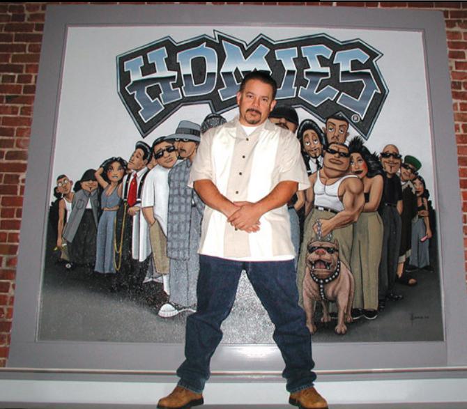 ヒップホップ・アートトイ Homies(ホーミーズ)のクリエーター:デイビッド・ゴンザレズ