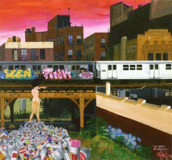 レイディー・ピンクのアート(www.pinksmith.com)